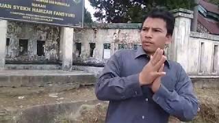 Lagi Lagi,,,, Anak Aceh Ini Mempromosikan Makam Syech Hamzah Al  Anfanshuri Ke Lima Benua