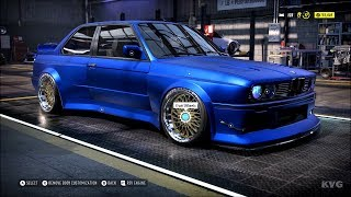 Need for Speed Heat - BMW M3 Evolution II 1988 - Customize | Tuning Car (PC HD) [1080p60FPS]