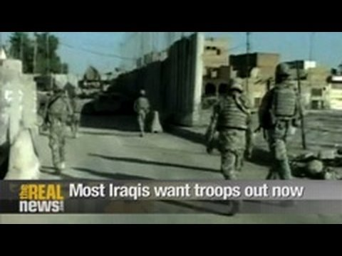 Most Iraqis want US troops out now