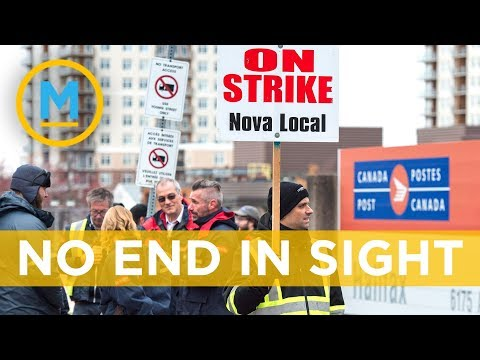 There are no signs unionized Canada Post workers will end their rotating strikes soon   Your Morning