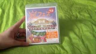 嵐 Arashi Arafes'13 National Stadium 2013 Concert Blu-Ray Unboxing
