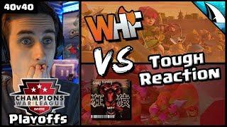 *CWL Playoffs* WHF vs Crazy Monkey | Clash of Clans
