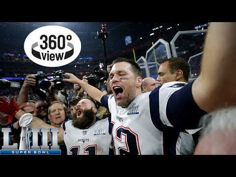 Super Bowl LIII Postgame All-Access in 360º | 2018 NFL Playoffs