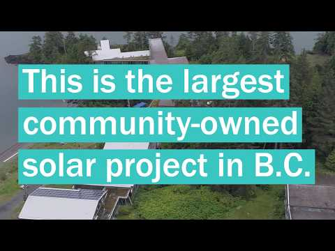 David Isaac of W Dusk — Haida Gwaii Solar Project — Today's Energy Jobs