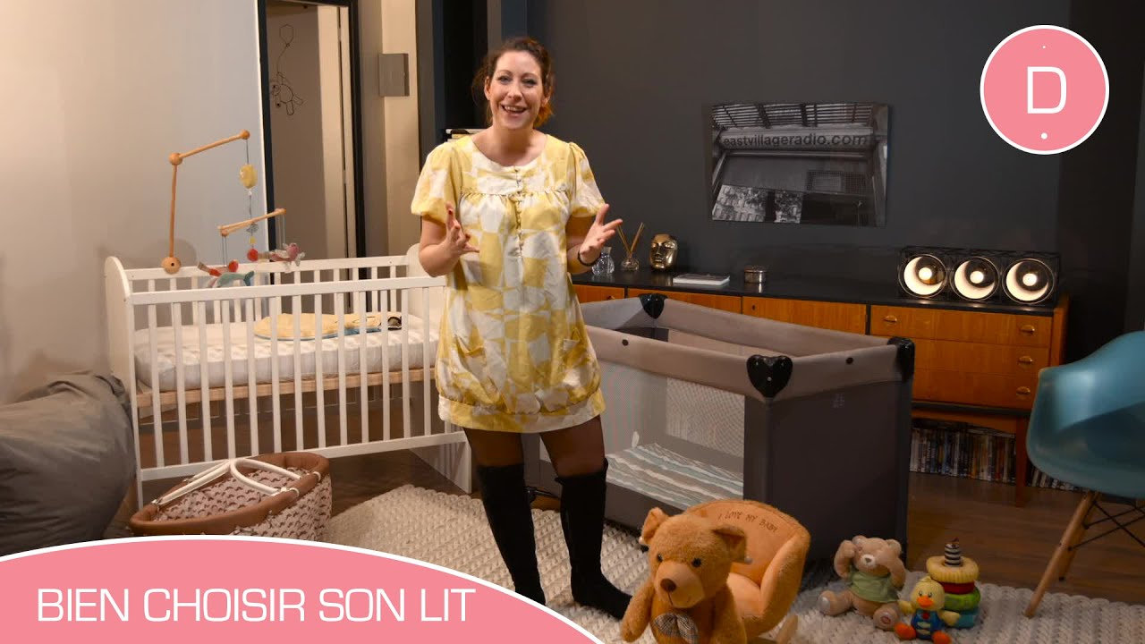 comment choisir le lit de b b conso b b youtube. Black Bedroom Furniture Sets. Home Design Ideas