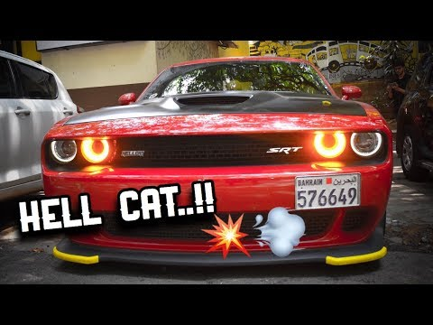 Dodge SRT HELLCAT making noise in the streets of Bangalore | supercars in India |