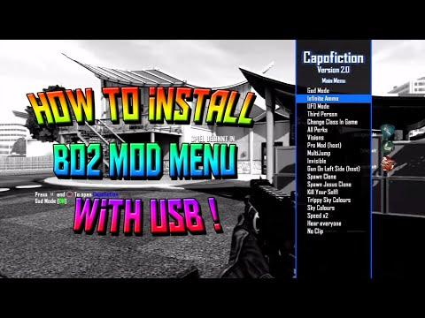 BO2 - MOD MENU *NO JAILBREAK* + TUTORIAL (PS3,XBOX,PC)