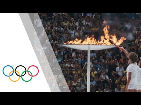 Montreal 1976 Olympic Games - Olympic Flame & Opening Ceremony