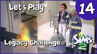 Let's Play The Sims 2 Legacy Challenge #14 - The Disaster Episode