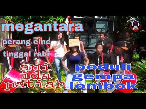 megantara terbaru bareng 3 dancer perang cine dan aksi ida.ani.patiah peduli gempa lombok