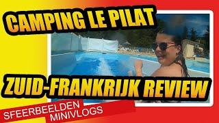 Camping Le Pilat met zwembad in Frankrijk tussen de lavendel en mooie bergen.