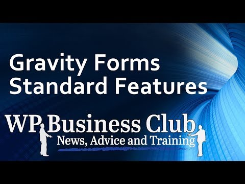 gravity forms standard review 2017