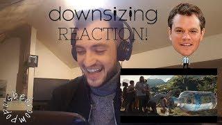 DOWNSIZING TRAILER #1 REACTION