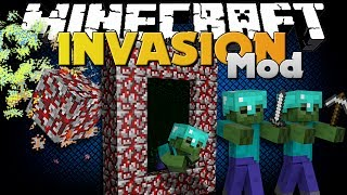 Minecraft Mod - INVASION MOD - NEW WEAPON AND METEOR STRIKE