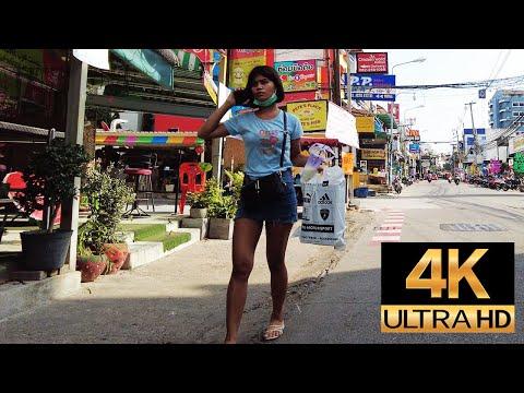 Pattaya 4K Walk  Soi BuaKhao,Beach Road, Treetown, Summary This Week 11th-14th Apr.