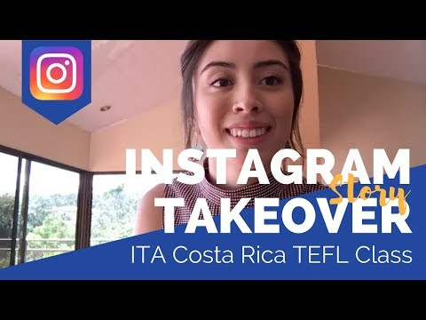 Costa Rica TEFL Class - Teaching English Abroad Social Takeover