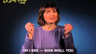 Using American Sign Language (ASL) When Approaching Someone New - For Dummies