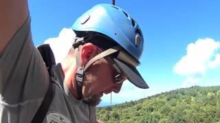 Ziplining at Kapalua Ziplines, Maui (HD)