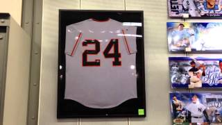 Willie Mays jersey psa/dna authenticated