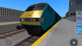 The brand new DVT leaves Minstow Low in ROBLOX Grand Continental Railways