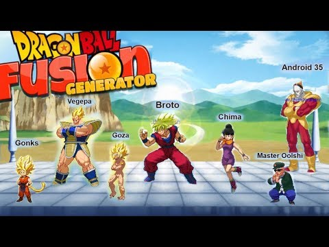 The Dragon Ball Fusion Generator! - YouTube