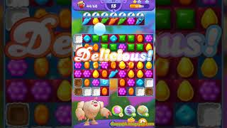 Candy Crush Friends Saga Level 117 (3 stars, No boosters)