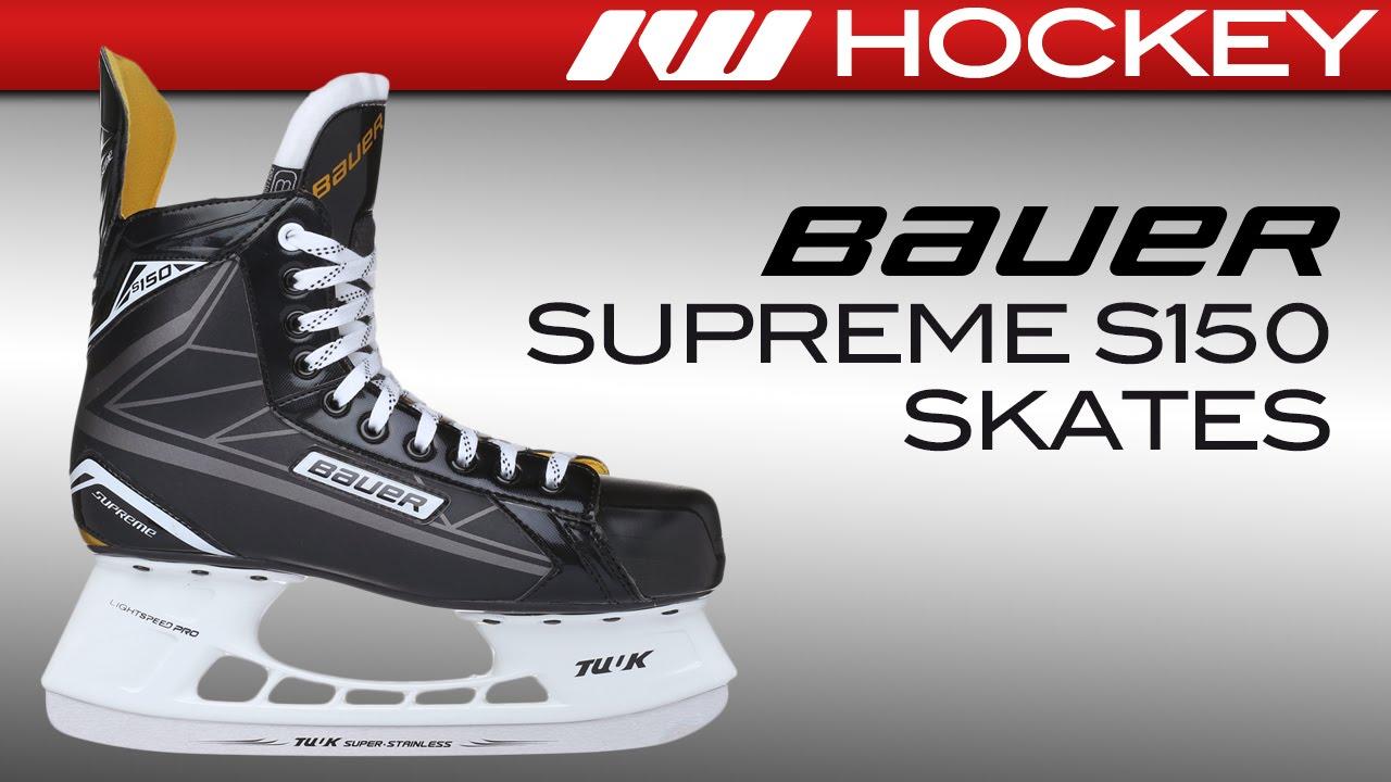 Bauer Supreme S150 Skate Review