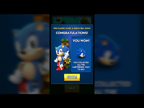 How To Unlock Classic Sonic In Sonic Dash