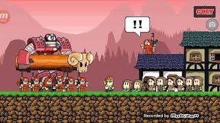 Nhóc đánh võ kungfu bảo vệ ngôi làng đi cảnh Dan the Man cu lỳ chơi game lồng tiếng vui nhộn