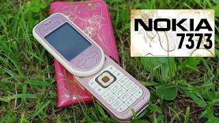 Nokia 7373: телефон высокой моды (2006) – ретроспектива!