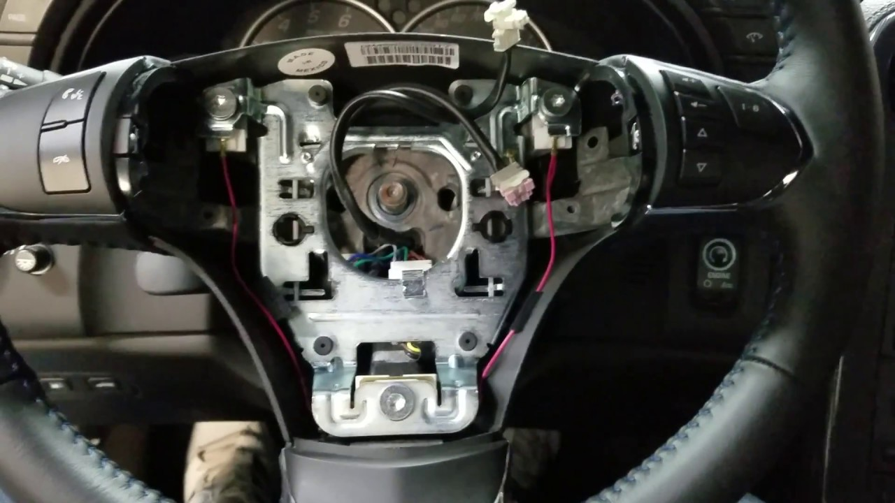 C6 Corvette Steering Wheel Removal And Install How To