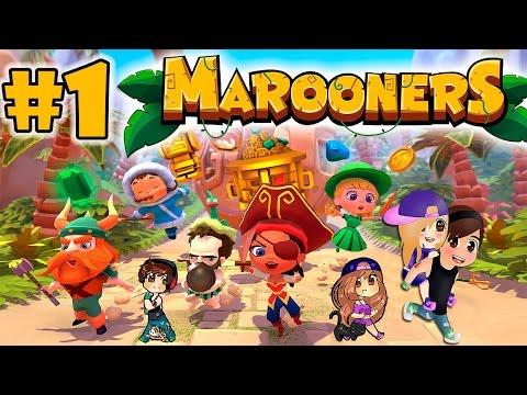 Probando Juegos: Marooners #1 Minijuegos Random