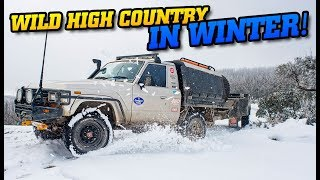 WILD WINTER in the High Country • This track nearly broke us