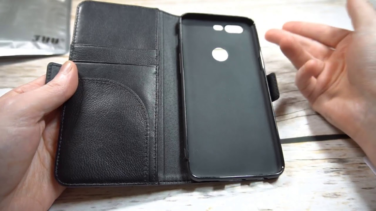 online store ed715 a22d9 FYY Genuine Leather Wallet Case for OnePlus 5T Review (Spoiler, It's a Hit!)
