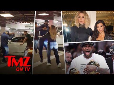 Khloe Clobbers LeBron! | TMZ TV