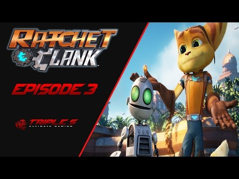 Ratchet and Clank Episode 3 | DESTROY WARSHIPS AND FIND AL