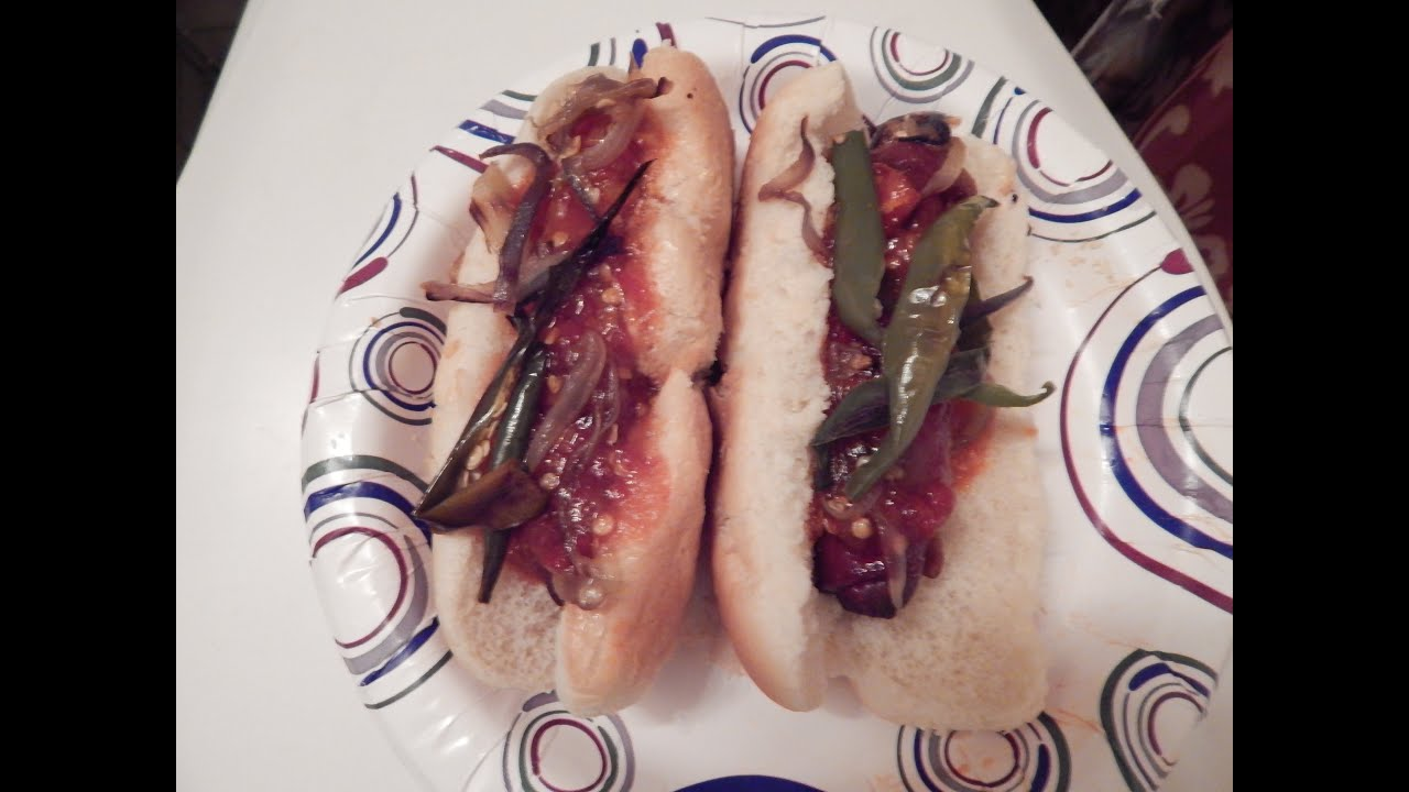 Tijuana Style Hot Dogs