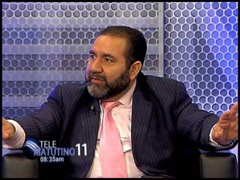 Entrevista Telesistema 11 Ing. Ramón Rogelio Genao, Sec. Gral.  PRSC