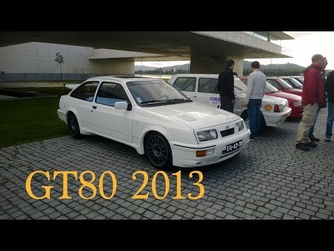 Meeting of 80's & 90's Classic Sports Cars at Viana do Castelo, Portugal (GT80 2013)