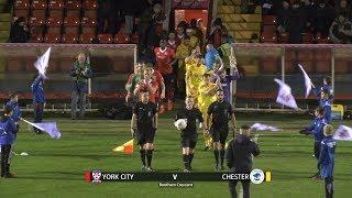 York City 0-0 Chester (13/11/2018)