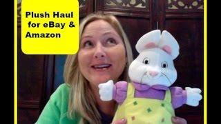Plush Stuffed Animal Haul to Sell on eBay and Amazon