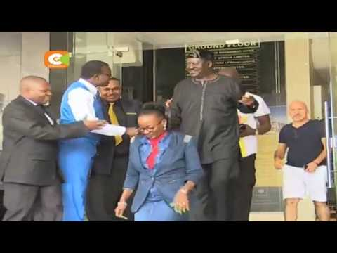 Odinga in Mombasa for people's assembly