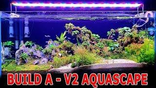 Aquarium Setup v2 - Live Planted Fish Tank - Aquascape