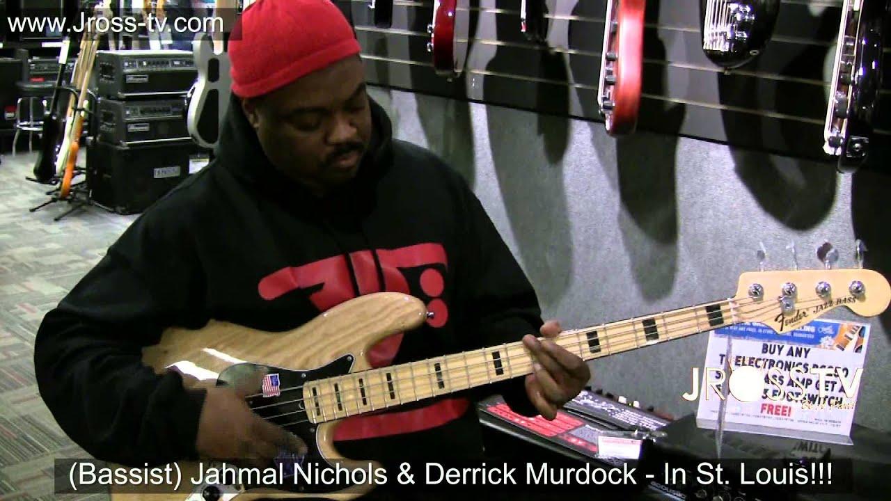 james ross bassist derrick murdock jahmal nichols guitar center st louis www jross tv. Black Bedroom Furniture Sets. Home Design Ideas