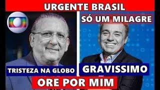 Triste noticia na TV Globo: aos 69 anos Galvão Bueno e o apresentador Gugu Liberato saúde preocupa.