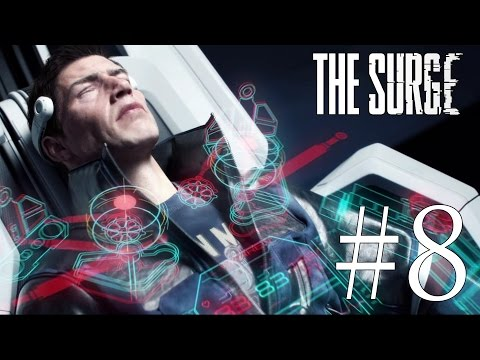 The Surge Gameplay Walkthrough #8 The Smelter, Recycling & Toxic Waste Disposal / PC 1080p 60FPS