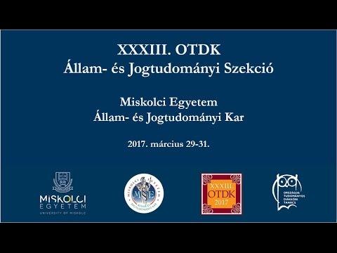 XXXIII. OTDK ünnepi díjátadó