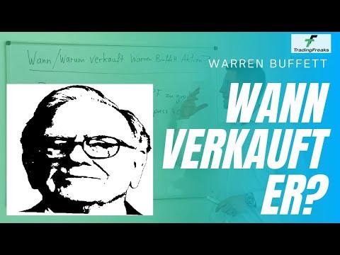 Wann verkauft Warren Buffett Aktien? Die wahren Gründe. Unterschiede Investment Daytrading.