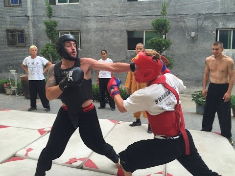 Shaolin Boxing Sanda Class - Competition Sparring