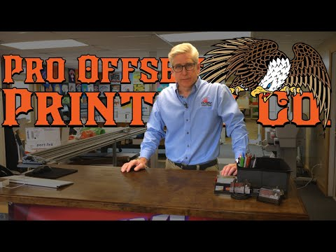 Printers On Press  -  Pro Offset Printing Co. Shop Tour